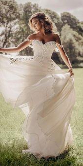 Stephanie Allin Bröllopsklänningar – Love Stories 2019 ★ #bridalgown #weddingdr …
