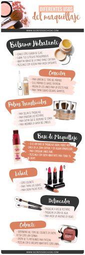 ¿Qué diferentes usos podemos darle al maquillaje? Hoy os traigo los diferentes …   – je