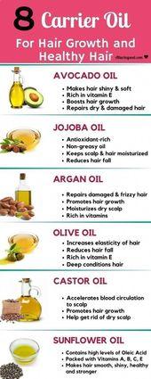 10 großartige Möglichkeiten, Kokosöl für gesundes Haar und gesunde Kopfhaut zu verwenden,  #f…