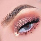 41 Top Rose Gold Make-up-Ideen, die aussehen wie eine Göttin