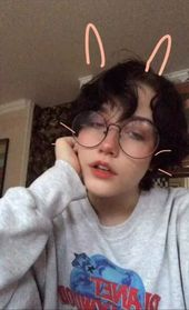 My Bunny Hearted Girl  Chloe Moriondo In 2019  Cute Hairstyles