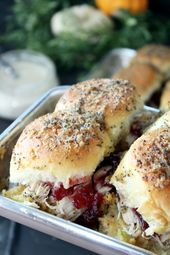 Thanksgiving Leftover Turkey and Dressing Sliders – addicted to recipes