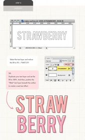 Illustrator Shortcuts  Puglypixel Photoshop Tutorial - How to Outline a Solid Font #PhotoshopHowToAdobe...