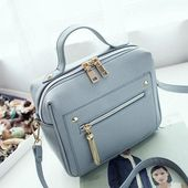 Bolish Excessive High quality PU Leather-based Ladies purse Small Ladies Messenger Bag