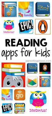Reading Program Apps for Kids