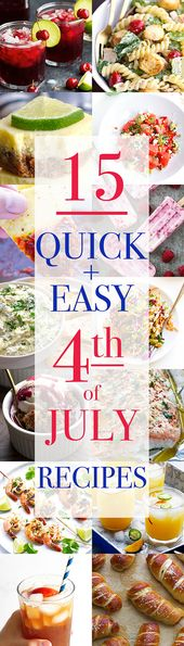 15 Best 4th of July Recipes