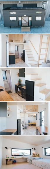 Ibbotson Tiny House by Build Tiny #tinyhouseliving Custom built for a family wit…