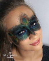 Pfau Kostüm selber machen ✓ Für Fasching, Karneval & Motto-Partys ✓ Unterhaltung  – Karneval