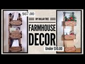 DIY Farmhouse 3 Tier Organizer – Wall or Table Roo…