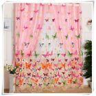 Balkon Schmetterling Tüll Türfenstervorhang Transparent Panel Puff Thick Black   – Balkon Vorhänge