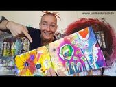Ulrike Hirschs Kreativ-Espresso #15   Kunterbuntes Schnipsel-Kritzel-Buch – YouTube