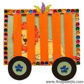 Circus Train Craft #ArtsAndCrafts #KidsCrafts #Crafts #DIY #CircusTrains