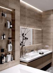 20+ Minimalist And Futuristic Bathroom Remodelling Ideas