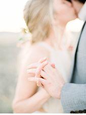 Romantisches Elopement Shooting in der Wüste von Jacquelyn Hayward Photography