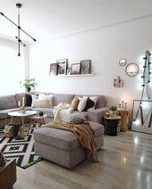 In diesem wunderschönen Wohnzimmer stimmt einfach jedes Detail! Ein super beque