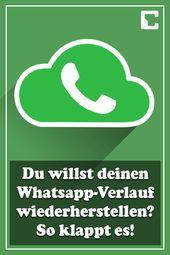 Restore your WhatsApp history