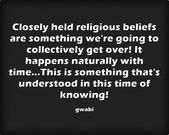 Alles Teil des natürlichen Endes der Religion! – Religion is over…Ask any kid!