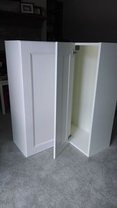 No Such Thing As Simple Corner Kitchen Cabinet Kitchen Cabinet Remodel Ikea Corner Kitchen Cabinet
