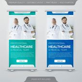 Healthcare Rollup X-banner Design