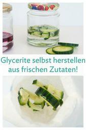 Basiswissen: Glycerit – Pflanzenwirkstoffe in Glycerin ausziehen