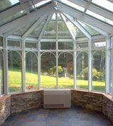 Florian Greenhouse 1 800 Florian Sunrooms Greenhouses Buckmeir In 2020 Backyard Greenhouse Traditional
