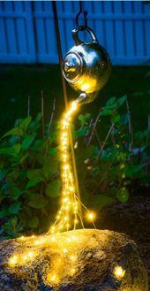 Top 8 des idées et décors fantastiques de jardins de fées fantastiques-John Hortop- # Décors # 1 …   – Hinterhof Dekor