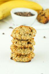 Vegane Kekse ohne Zucker – Gesundes Haferflocken Rezept