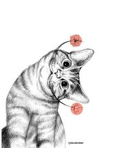 Dalis Katze – Was gibt es anderes zu sagen, als dass wir cooles Zeug LIEBEN!   -… – Zeichnungen