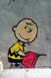 Details about Charlie Brown by Banksy, Los Angeles Graffiti Art, #angeles #bank …   – Straßenkunst/Streetart/Art
