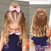 Children's Hairstyles Recommended Front Half Bulk Double Braided – # Double # Child #Models #Front # Braided
