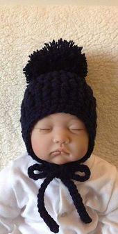 1722701d1f1 Ravelry  FREE BABEE CHULLO (Baby Earflap Hat) pattern by Bobbi Padgett