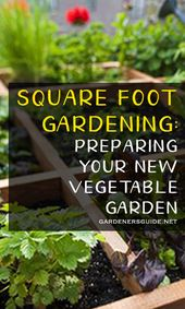 Square Foot Gardening: How To Prepare Your Vegetable Garden #squarefootgardening…
