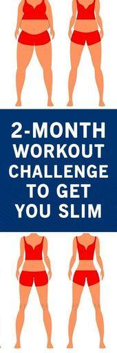 Workout Challenge To Get You Slim – #Challenge #slim #Workout
