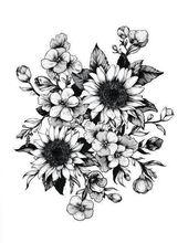 #Tattoo … Forearm Flower Tattoo Sunflower Tattoo Case and Sunflower Tattoo …