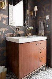 Bathroom Sink Vanity cabinets and wall hung vanity units #Smalldoublesinkvanity …