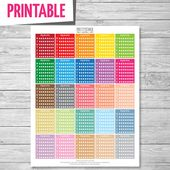 Hydrate Stickers, Printable Stickers, Planner Stickers, Water Tracker