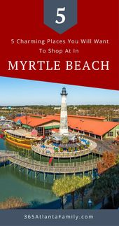 5 Charming Locations to Store in Myrtle Seaside, South Carolina