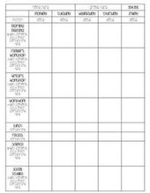 Lesson Plan Template Weekly View  TeacherspayteachersCom