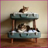 For all cat lovers: give your cat a house with allure
