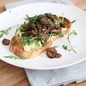 Toast mit Brie und Pilzen – Mariëlle in der Küche