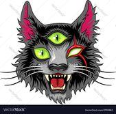 Devil Cat Black Lizenzfreies Vektor-Bild – VectorStock, #sponsored, #black, #R …
