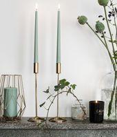 High candlestick | Gold colors | H & M HOME | H & M DE