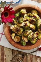 Roasted Brussel Sprouts   – fab food