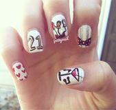 14 preciosos diseños de uñas para la fiesta de cumpleaños de tus hijos