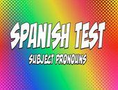 Spanish Topic Pronoun Take a look at