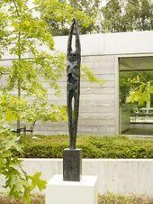 """""""Still"""": Bronzestatue der flämischen Künstlerin Ann Vrielinck. – Skulpturen …..   – Keramische Kunst"""