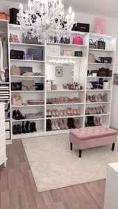 40 Pretty Modern Closet Ideas That Every Women Will Love