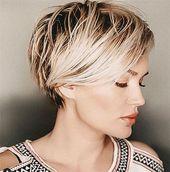 Naughty summer short hairstyles 2019 - #nice #short hairstyles #summer - # hairstyles