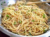 Thunfisch-Paprika-Nudeln   – Pasta
