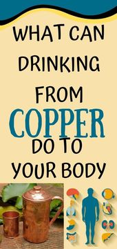 NO ONE KNEW THAT THAT DRINKING FROM COPPER CAN DO THIS TO YOUR BODY, IT'S FASCINATING! 1